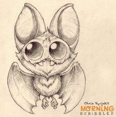 Kawaii! Cute monster critter doodles Chris Ryniak http://chrisryniak.com/