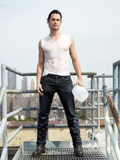 Matt Bomer, dear Jesus. If only you were straight...and not an actor.