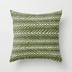 Fir tree pillow cover green pillow Christmas by RiverOakStudio