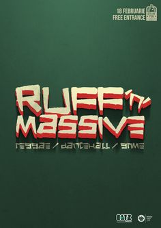 Ruff 'n' Massive este un party care aduce în prim plan muzica grime, dancehall și reggae. Cu One Lion și Megga Dillah în calitate de selectori, riddim-uri Chevrolet Logo, Free, Magazine, Logos, Logo, Magazines, Warehouse, Newspaper