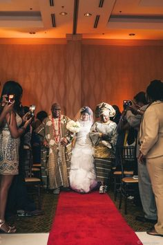 Munaluchi Bride Magazine | Nigerian Liberian American Wedding | African Wedding | Multicultural Wedding | Real Weddings