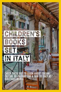 children's books about Italy that will help you plan your next family trip Travel With Kids, Family Travel, Children's Books, Good Books, Italy For Kids, Italy Pictures, Travel Books, World Of Books, Popular Books