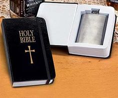 Holy Bible Flask $13.95