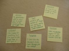 Post-it Note Counseling