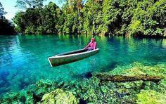 Danau Labuan cermin - Berau, Kaltim