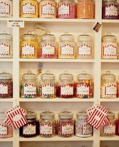 nice jars and labels-very nostalgic look