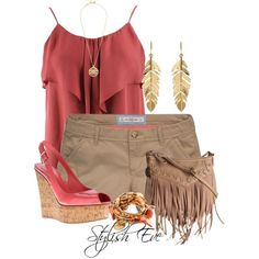 Stylish Eve Casual Clothes   Stylish Eve Outfits 2013: Beach Wear with Shorts, Perfect Out of Water ...