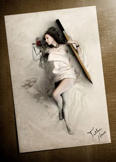 Brazilian Artist Creates Digital Paintings That Leap Off The Page