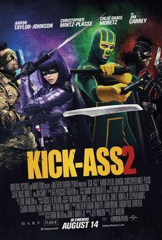 """Elenco reunido em dois novos cartazes do filme """"Kick-Ass 2″ http://cinemabh.com/imagens/elenco-reunido-em-dois-novos-cartazes-do-filme-kick-ass-2"""