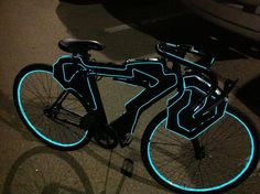 Tron Bike - I was just talking about wanting one like this the other day