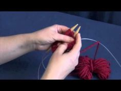 Knitting in the Round on Two Circular Needles