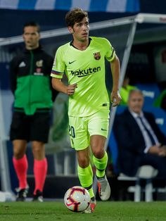 MADRID, SPAIN - SEPTEMBER Sergi Roberto of FC Barcelona during the La Liga Santander match between Leganes v FC Barcelona at the Estadio Municipal de Butarque on September 2018 in Madrid Spain (Photo by David S. Camp Nou, Fc Barcelona, Sergi Roberto, Soccer Pictures, Messi, Madrid, Sporty, Guys, Skate
