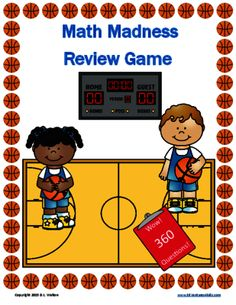 Math Madness a Review Game from EdVentures 4 Kids on TeachersNotebook.com -  (44 pages)  - Math Madness is a fun, challenging review of 3rd grade math standards. It contains 360 questions covering nine 3rd grade math standards. Perfect for review or test prep.