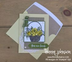 Blossoming Basket, Tutti Frutti note cards, SAB 2018, stampin Up