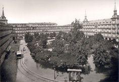 Plaza Mayor de Madrid, 1895 - Portal Fuenterrebollo
