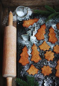 Glutenfria Pepparkakor / Gluten free Gingerbread / Evelinas Ekologiska