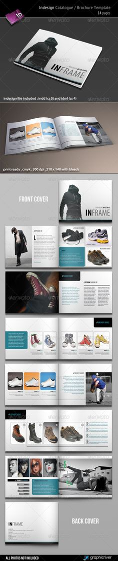 Indesign Catalogue / Brochure Template - GraphicRiver Item for Sale