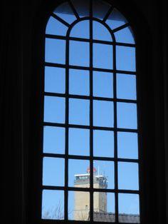 zicht op Brandaris vanuit de Westerkerk