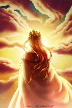 """generouslycoldstranger: """" Queen Historia by Suncelia With permission to repost """""""