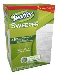 $50 Swiffer Sweeper Dry Sweeping Cloths, Mop and Broom Floor Cleaner, 96 ct by Swiffer, http://www.amazon.com/dp/B00ATGNB8S/ref=cm_sw_r_pi_dp_oRV7qb0MQX8VH