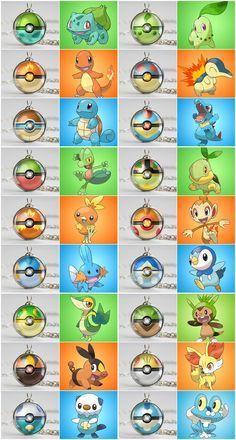 Pokeballs of the Kanto starter pokemon. Pokemon Go, Pokemon Poster, Pokemon Craft, Pokemon Party, Pokemon Comics, Pokemon Memes, Pokemon Fan Art, Cool Pokemon, Pokemon Jewelry