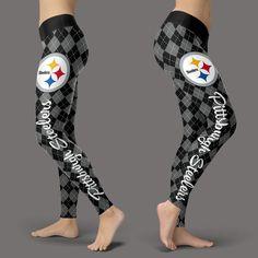 Cosy Seamless Border Wonderful Pittsburgh Steelers Leggings – Best Funny Store