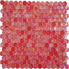 $13.48  Red  ISI Circles, Circles, Red, Glossy & Iridescent, Red, Glass - See more at: http://www.glasstileoasis.com/p-13584-Red-Red-Glossy-Iridescent-Glass#sthash.BM5f2f9w.dpuf