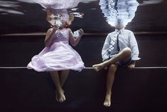 Portraits of Kids Submerged Underwater by Alix Martinez 2