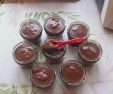 Recette Crèmes danette au chocolat au lait par Anne Legoupil Ma cuisine tout simplement - recette de la catégorie Desserts  Confiseries