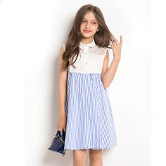 GIRLS NEW MINI BODEN RUFFLE TIERED JERSEY STRIPE SKIRT 2 3 4 5 6 7 8 9 10 11 12