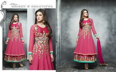 Jubilant Full Sleeve Ceremonial Suit with Lush Resham and Thread Embroidery