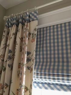 Lot's of window treatment ideas for spring. A new season is the perfect time to dress up your windows with clever upgrades of curtains, shades, blinds and more. - Check Out THE PIC for Lots of Ideas for DIY Window Treatments. Curtains And Draperies, Drapery Panels, Kitchen Curtains, Drapes Curtains, Valances, Fabric Blinds, Drapery Fabric, Curtains For Windows, Short Curtains