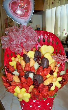 Another Valentine's Day basket