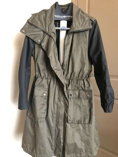 1442b48d5cf Lane Bryant Military Green  amp  Black Woman s Coat 18 20  fashion  clothing