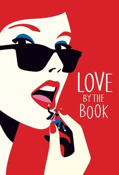 Love By The Book ©Malika Favre - Book cover illustration for Love By the Book by Melissa Pimentel published by Penguin Books. Pop Art Posters, Illustrations And Posters, Penguin Books, The New Yorker, Poster Design, Arte Popular, Flat Illustration, Portrait Illustration, Science Illustration