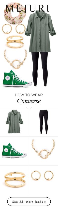 """""""Jenchaex mejuri"""" by horselover35125 on Polyvore featuring Jockey, Converse, New Look, contestentry and jenchaexmejuri"""