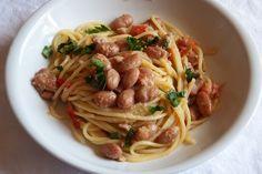Spaghetti tonno e fagioli