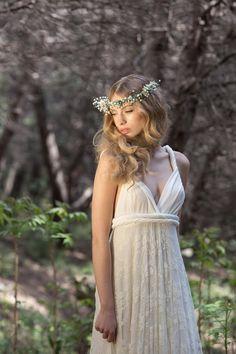 ... / Weißes Kleid - ein Designerstück von Mimetik_Bcn bei DaWanda
