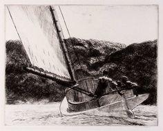 Edward Hopper etching