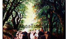 Myanmar Painting Art