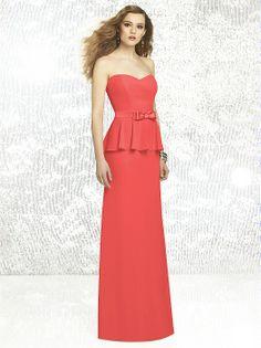 Social Bridesmaids Style 8129 http://www.dessy.com/dresses/bridesmaid/8129/#.Uwatp2JdV8R