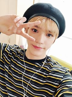 K-pop star Taeyong of NCT tells Allure all about his ever-changing hair and makeup, including the ways beauty reflect's the music of NCT and its subunits NCT U and NCT Taemin, Shinee, Lee Taeyong, Jaehyun, Nct 127, Capitol Records, Winwin, Fandoms, Draw