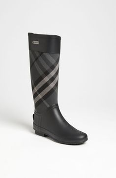 burberry big kids rain boots