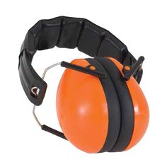 These Protective Earmuffs from Baby Banz NZ come in a bright and happy Orange! They suit 2-10+ years; $44.50.