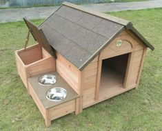 dog house plans step by step . dog house plans with porch . dog house plans diy how to build . Pallet Dog House, Wooden Dog House, Dog House Plans, House Dog, Large Dog House, Cabin Plans, Tiny House, Homemade Dog House, Cool Dog Houses