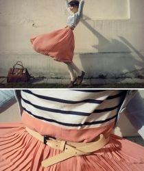 flowy skirts make a windy day so much fun!