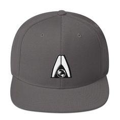 7ddfccb4174e4 Mass Effect - Systems Alliance Logo - Snapback Hat