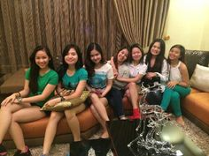 These are the alumni and the original cast of Goin' Bulilit who are now grown-up girls smiling for the camera during the Christmas party and reunion of the original cast and alumni of Goin' Bulilit at Direk Edgar Mortiz's house in Quezon City last December 2014. Indeed, they're another of my favourite Kapamilyas, and they're amazing Star Magic talents. #SharleneSanPedro #MilesOcampo #GoinBulilit #GoinBulilitGraduates Child Actresses, Child Actors, Growing Up Girl, Star Magic, Quezon City, All Grown Up, December 2014, May 1, Prom Dresses