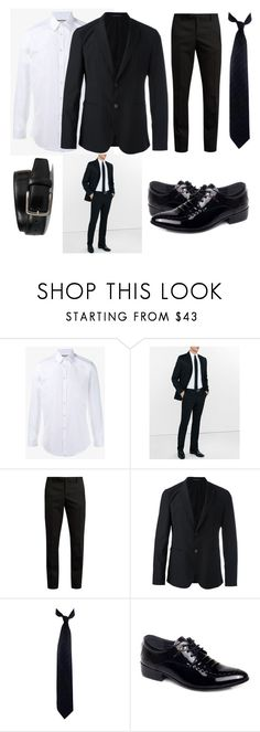 """""""Men's style"""" by eimxn-khxn ❤ liked on Polyvore featuring Gucci, Express, Yves Saint Laurent, Emporio Armani, Calvin Klein, Tod's, men's fashion and menswear"""