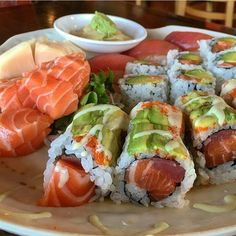 Sushi Recipes, Seafood Recipes, Asian Recipes, Cooking Recipes, Healthy Recipes, I Love Food, Good Food, Yummy Food, Sushi Love